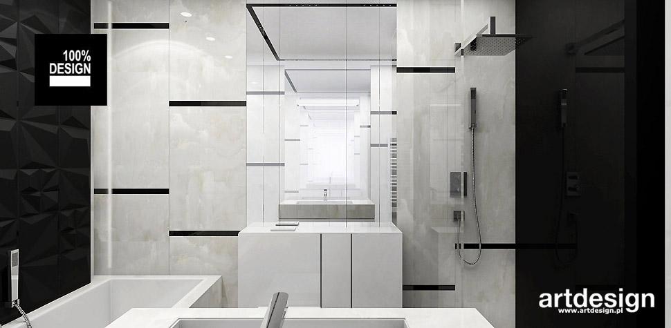 projekty łazienek wizualizacje