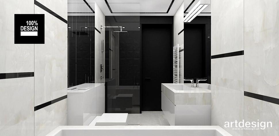 łazienka projekt wnętrza