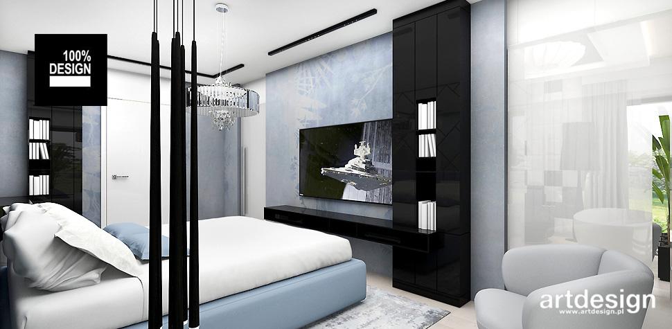 projekt sypialni wizualizacja