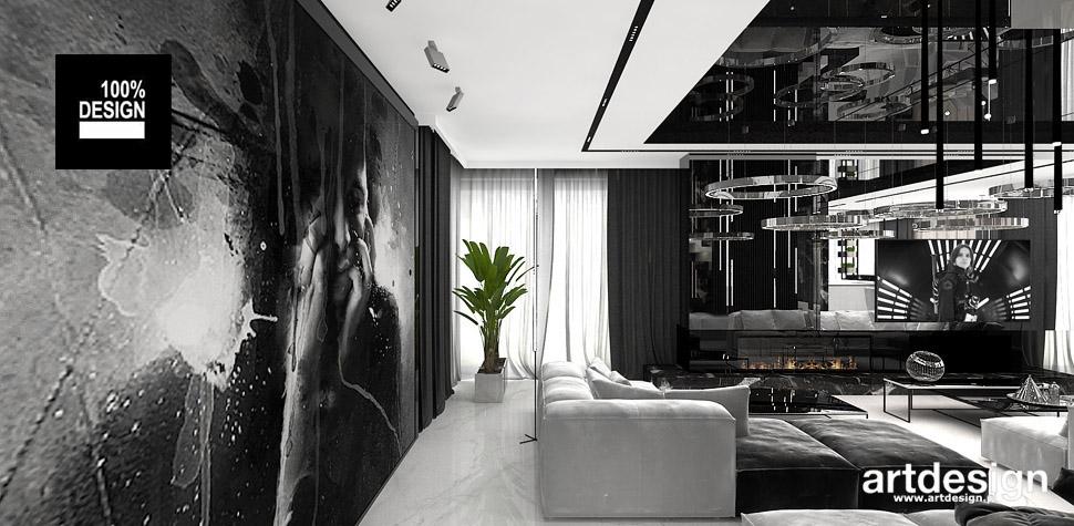 nowoczesny design salon wnętrze
