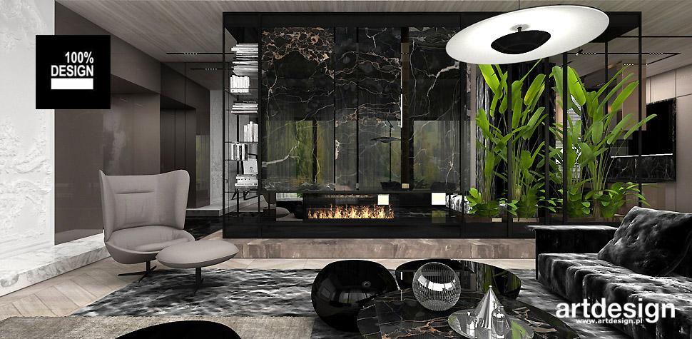 wnętrza nowoczesnego domu