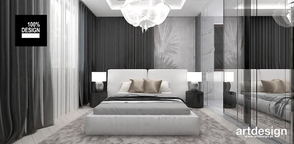 nowoczesna aranżacja sypialni