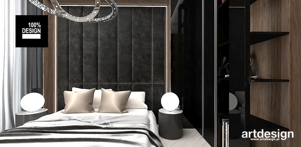 architektura wnętrz sypialnia