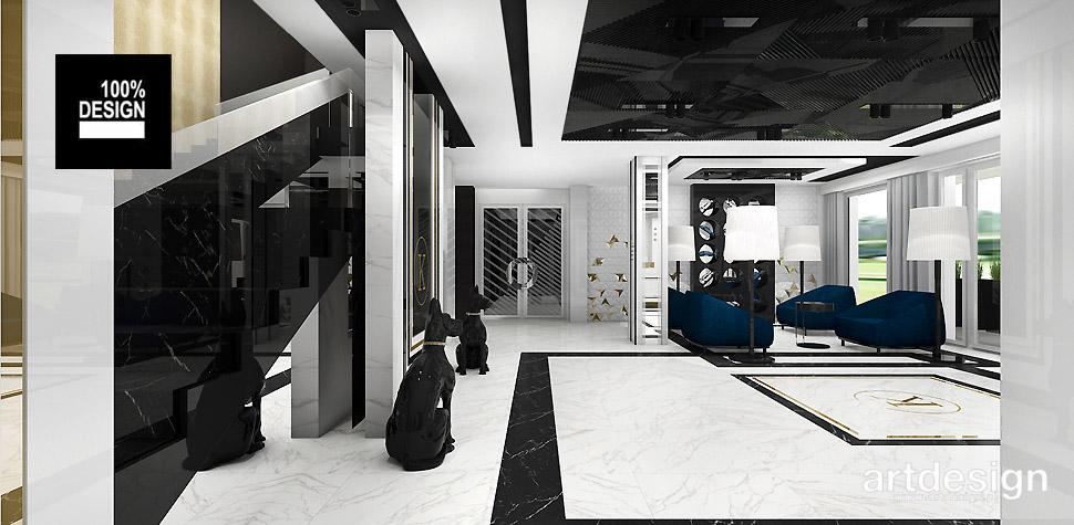 wnętrza użytkowe hotele aranzacje