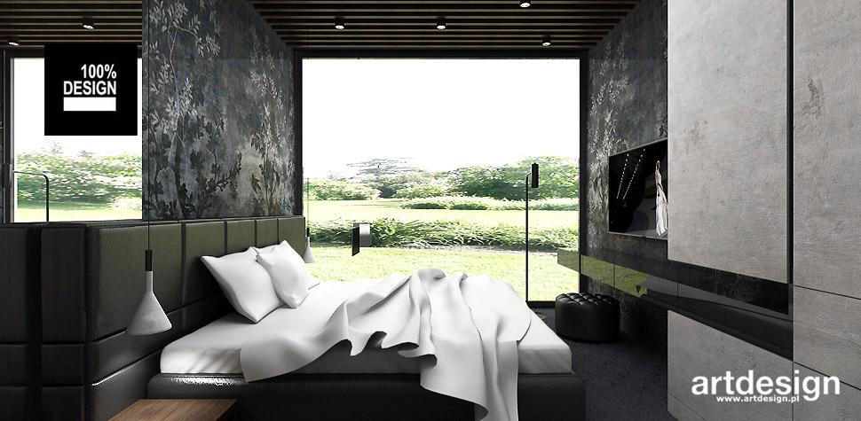 wnętrze domu sypialnia
