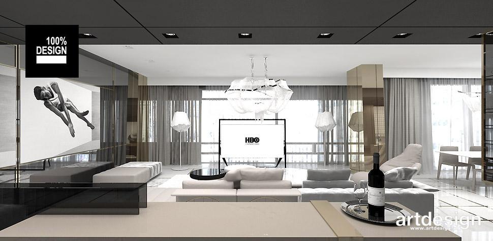 luksusowy apartament wnętrze