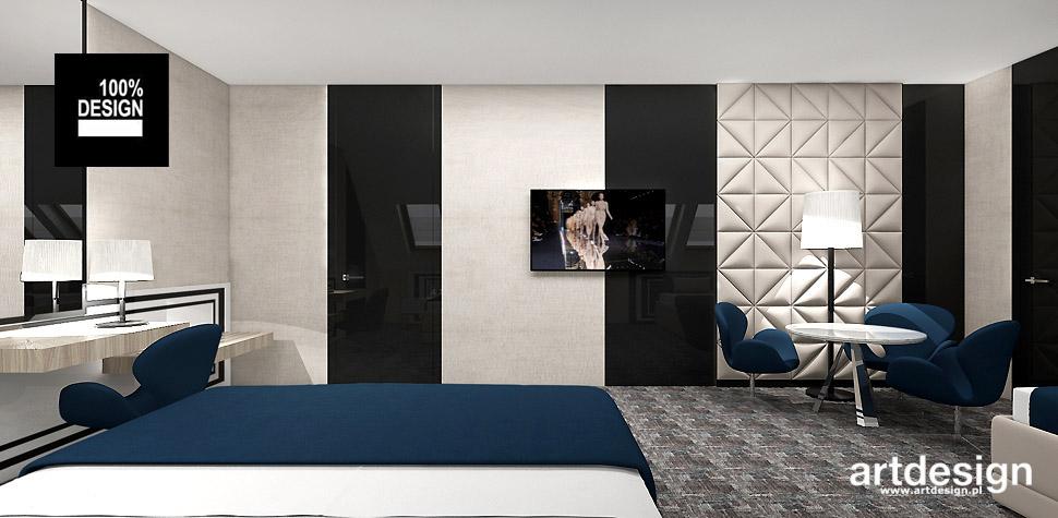 wnętrze hotelu pokoje