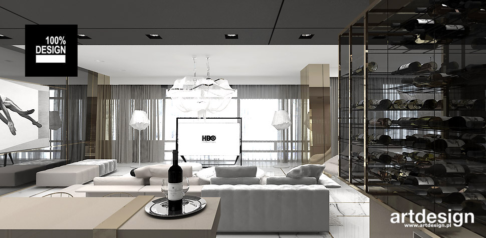 architekt wnętrz wizualizacje salon