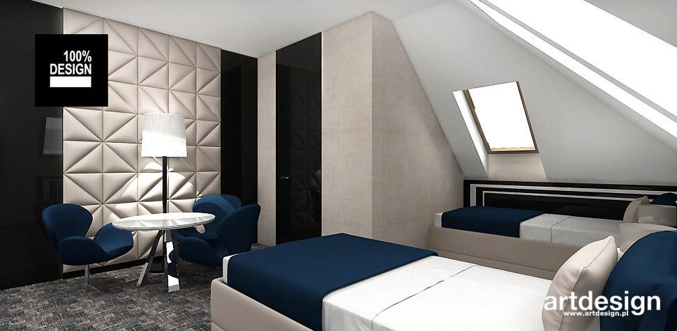 pokój hotelowy aranżacja