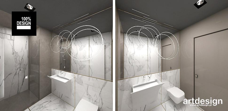 jasna łazienka nowoczesna
