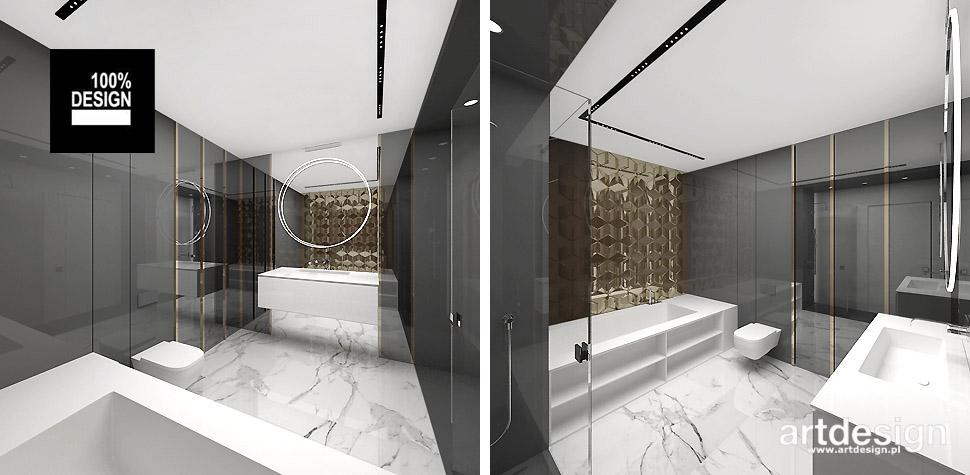 wyszukane projekty łazienek
