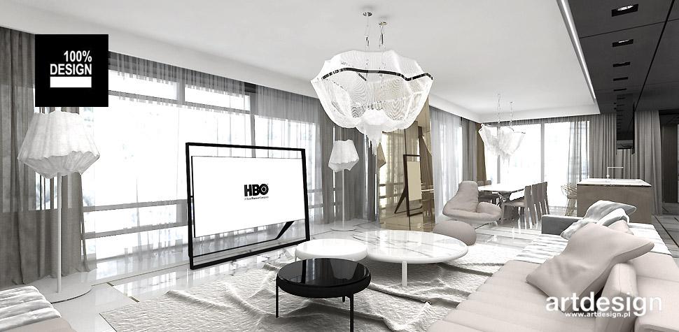 aranżacja salonu w apartamencie