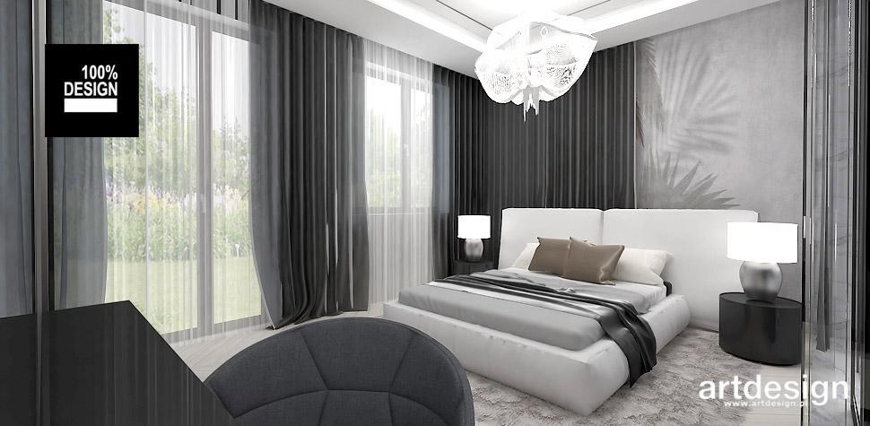 elegancka sypialnia projekt wnętrza