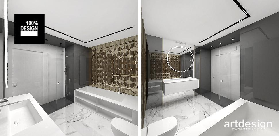 prestiżowe wnętrza apartament łazienka