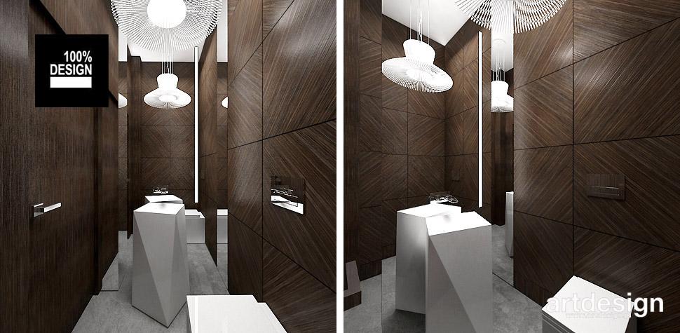 łazienka aranżacja w drewnie