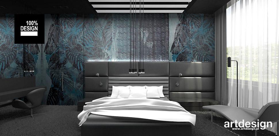aranżacje wnętrz design sypialnia