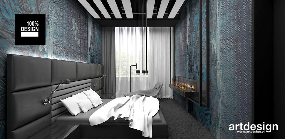 architektura wnętrz projekty sypialni