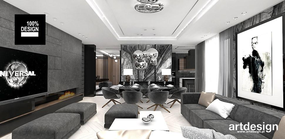 projektowanie wnętrz salon artdesign