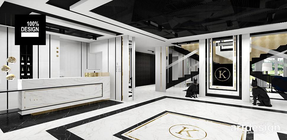 projekt recepcji hotelowej