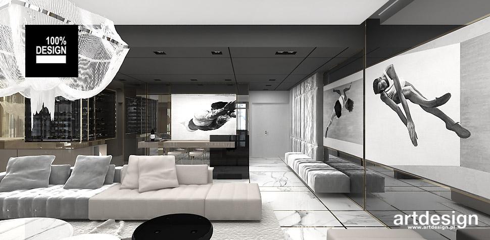 architektura wnętrz apartament