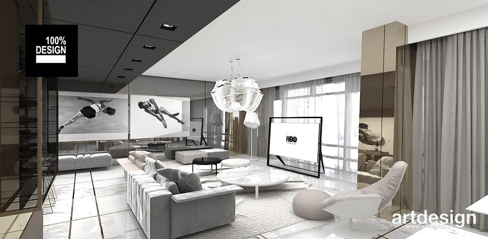 wnętrze apartamentu złota