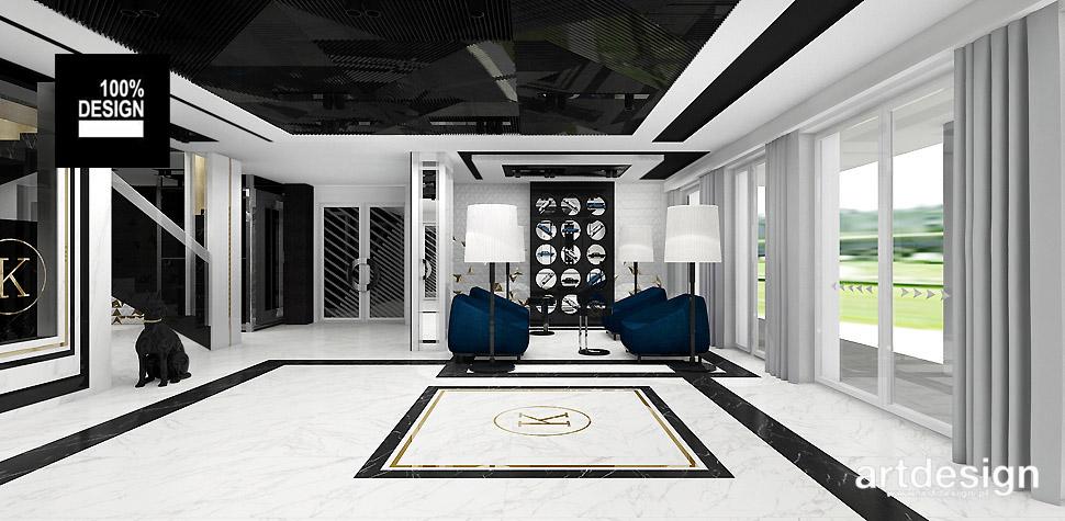 eleganckie wnętrze hotelu lobby