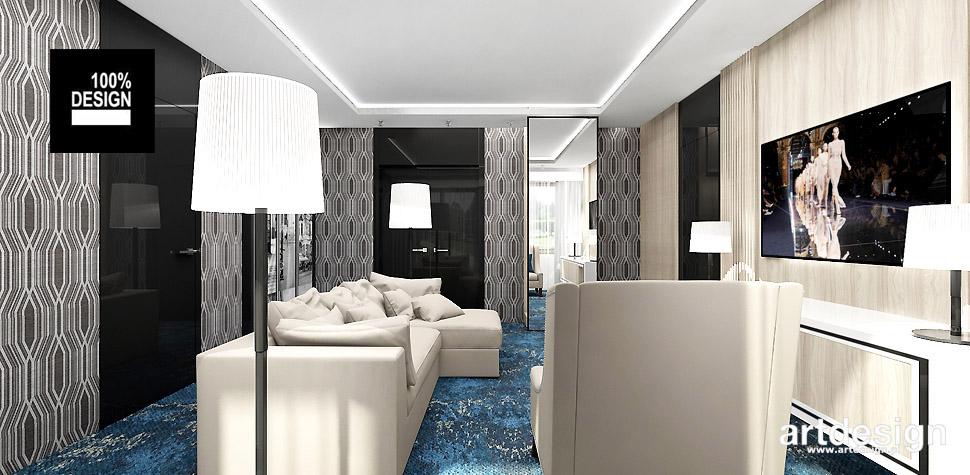 projektant wnętrz hotel pokoje
