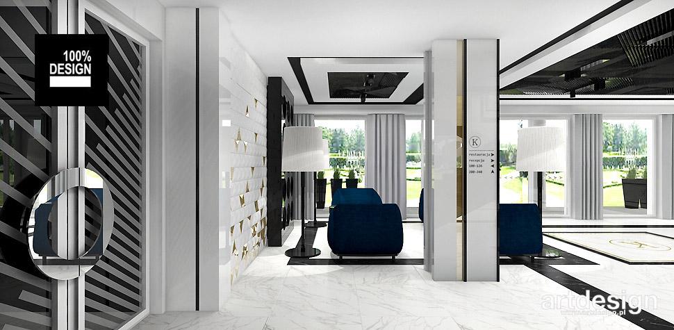 projektowanie wnętrz hotel wizualizacja