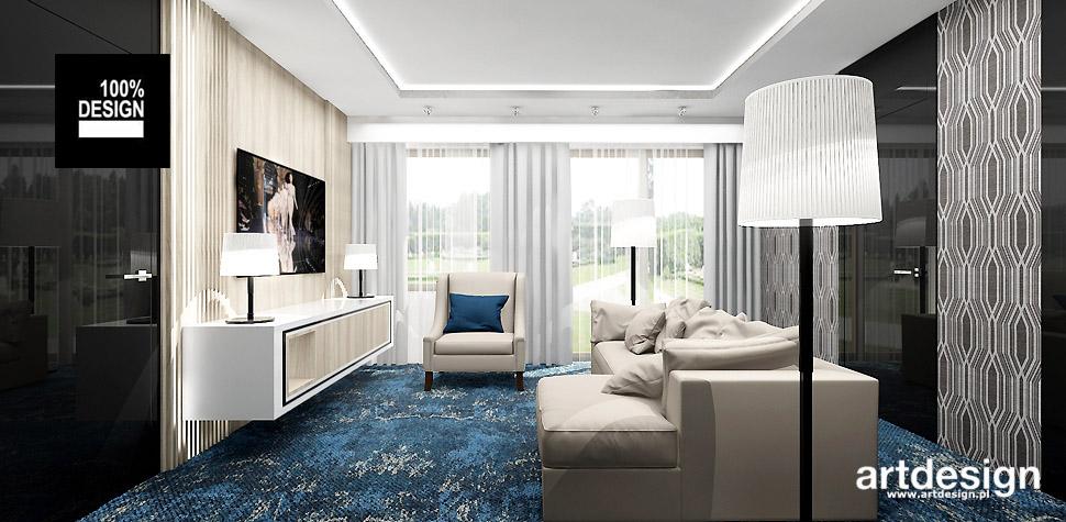 nowoczesne aranżacje pokoi hotelowych