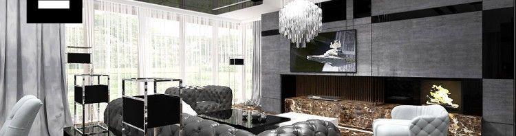 wnętrza domów aranżacje salon