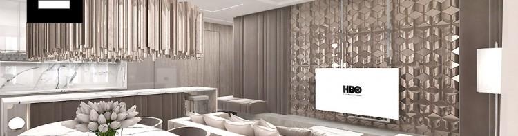projekt wnętrza apartamentu artdesign