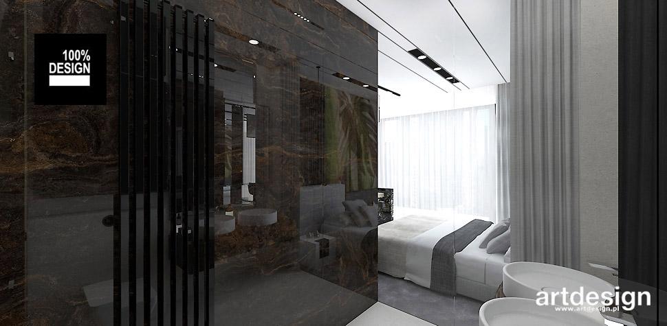 nowoczesne wnętrze sypialni