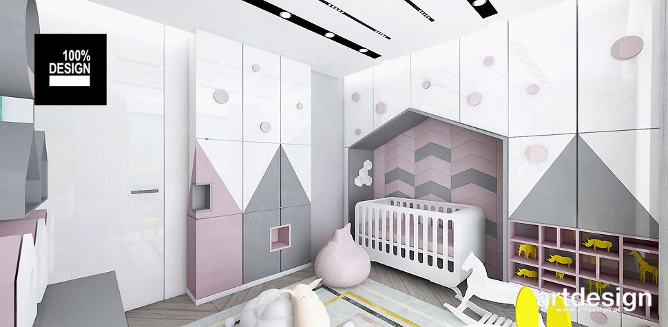 pokój dziecięcy wnętrza kolorowe aranżacje