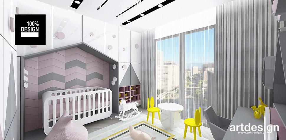 projekty wnętrz aranżacje domów