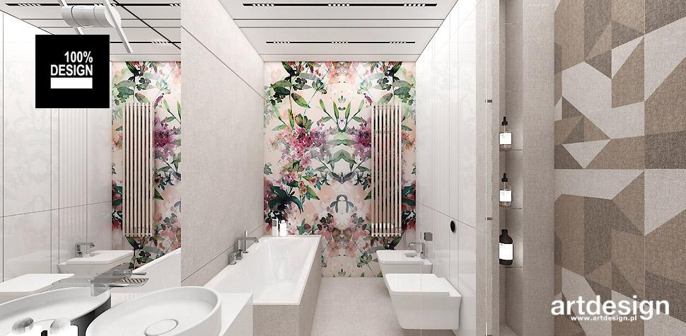 luksusowa aranżacja wnętrz łazienki