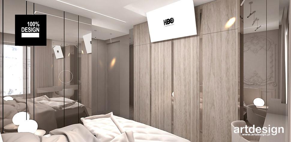 sypialnia nowoczesny design wnętrz