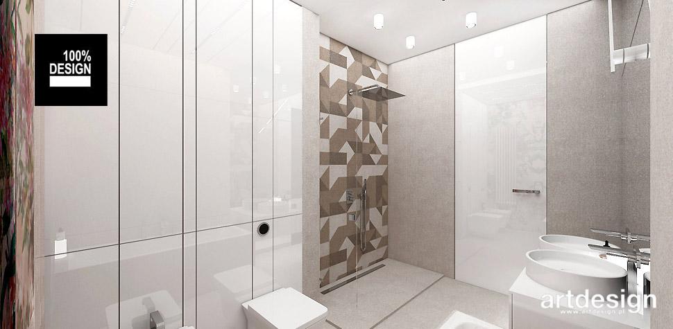 nowoczesny design wnętrz projekty łazienek