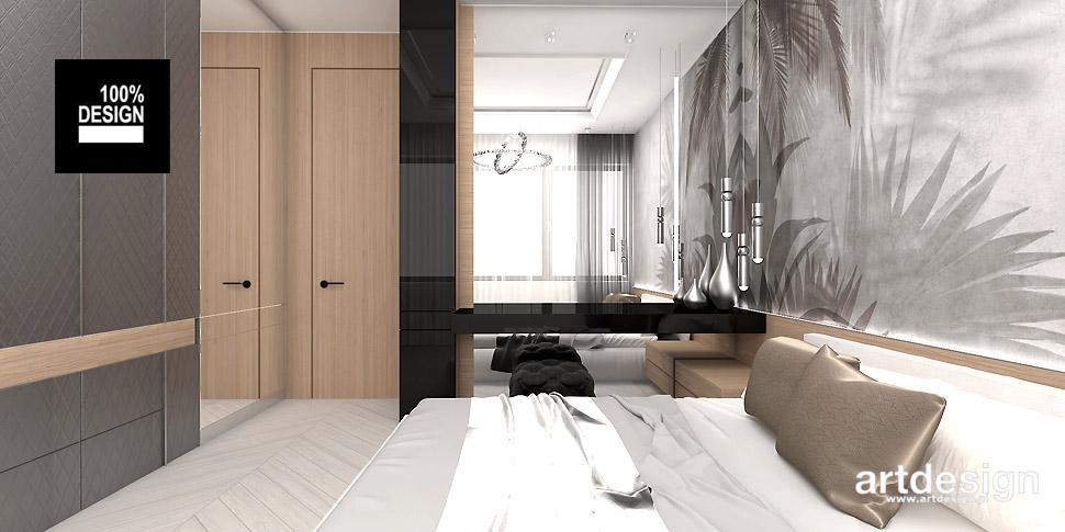 projekt sypialni inspiracje