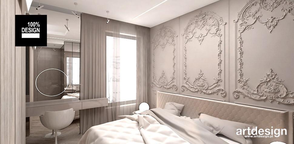dekoracyjna aranżacja sypialni