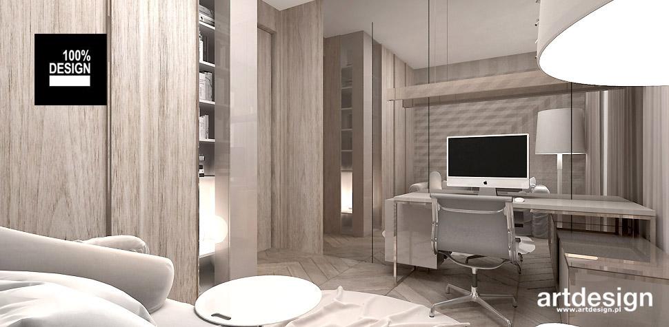projekt gabinetu wnętrze
