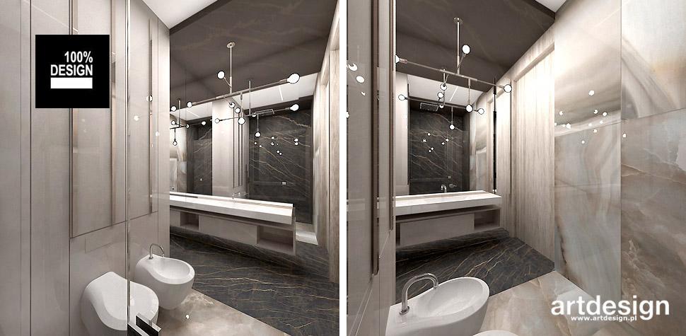 projekt łazienki nowoczesne wnętrze