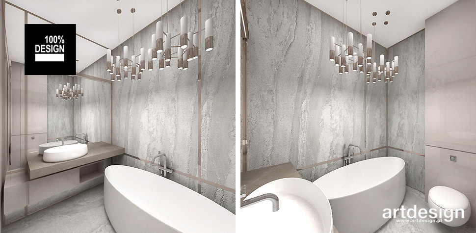 luksusowe wnętrza łazienek