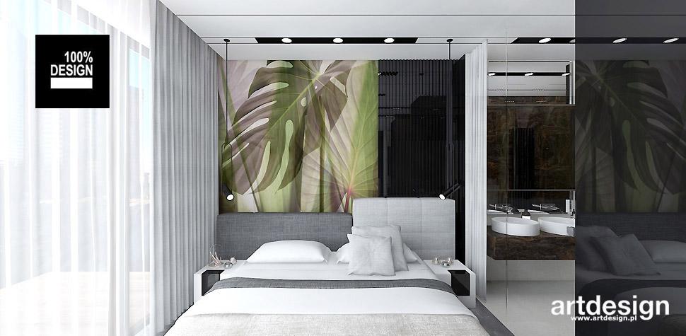 designerskie wnętrza projekty sypialni
