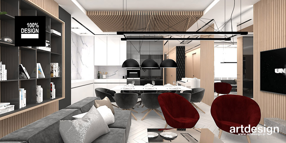 architektura wnętrz projekt mieszkania