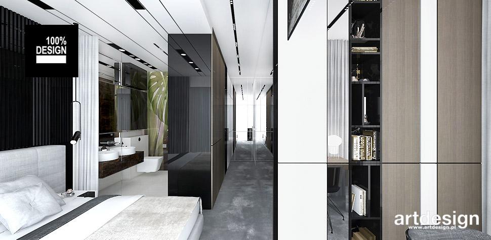 nowoczesna sypialnia projekty