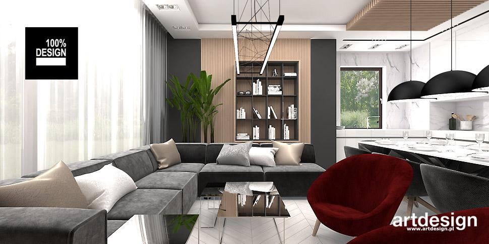 projekty wnętrz dom mieszkanie