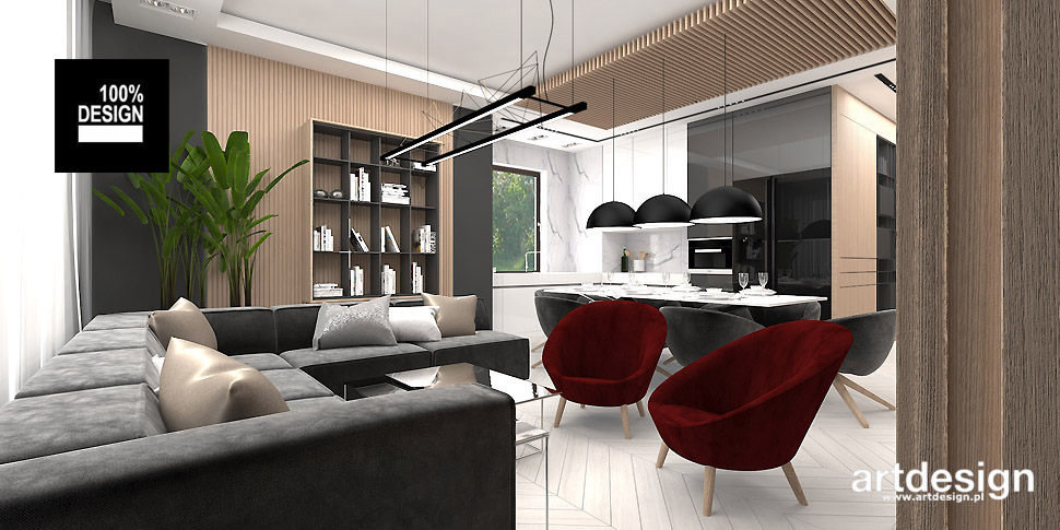 nowoczesny design wnętrze apartament