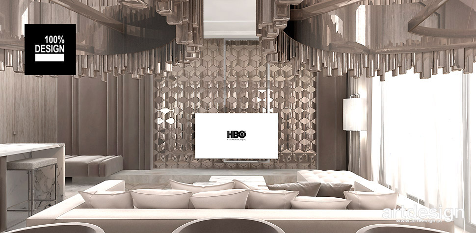 luksusowe aranżacje wnętrz salon