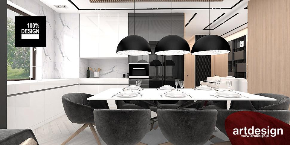 nowoczesna kuchnia projekty wnętrz