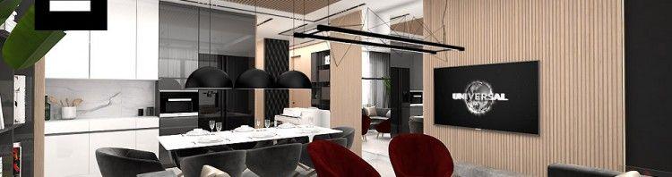 projektowanie wnętrz apartamentu